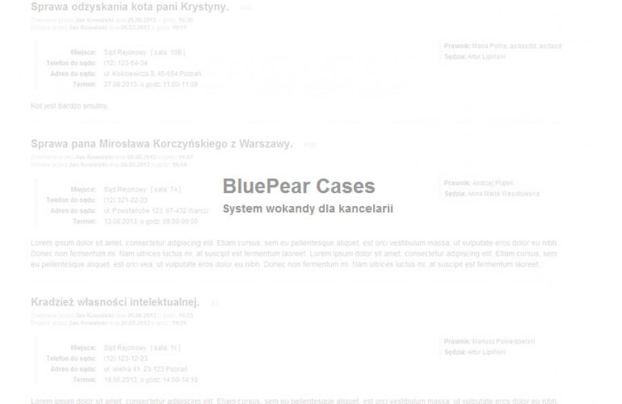 BluePear Cases